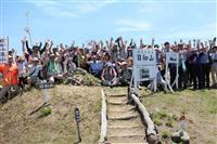 日本一低い仙台・蒲生の日和山 夏山登山、防災伝えられる場に