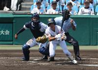 【夏の高校野球】初の夏舞台、中央学院惜敗 西村粘投も八回好機で流れつかめず 千葉