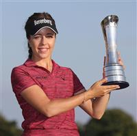 【女子ゴルフ】ホールがメジャー初優勝 比嘉真美子4位 全英女子
