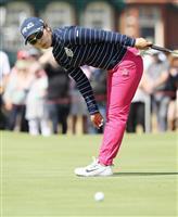 【女子ゴルフ】比嘉真美子「悔いの残るショットはない」、ホール「ずっと夢見てきた」 全英…