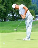 【男子ゴルフ】初出場の時松隆光、「僕にしては踏ん張った」と手応え 世界選手権