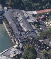 【動画】和歌山・那智勝浦町のホテル火災が鎮火 14時間後、けが人なし 宿泊客「最初はボ…