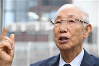 【話の肖像画】富士そば会長・丹道夫(2) 義父に手を箸でたたかれた