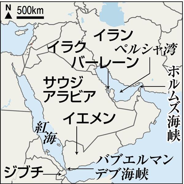 イラン核合意破棄】ホルムズ海峡緊張の恐れ 米・イラン、海上交通 ...