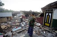 地震死者259人に インドネシア・ロンボク島