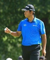 【男子ゴルフ】16位発進の松山英樹「フェアウエーに置けた」 池田勇太「いいスタートだと…