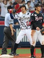 【プロ野球】オ6-3ロ オリックス3連勝、安達了一が逆転三塁打