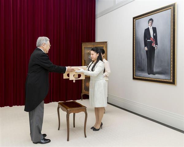 絢子さま「謹んでお受けいたします」 「納采の儀」で守谷慧さんとご婚約(1/2ページ) - 産経ニュース
