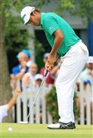 【男子ゴルフ】松山英樹「69」、7打差25位に後退 全米プロ選手権第2日