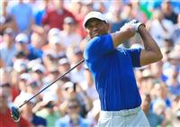 【男子ゴルフ】ウッズ、また優勝争いへ 全米プロ