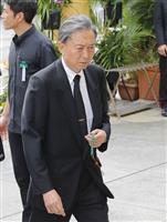 「人間として尊敬していた」と鳩山由紀夫元首相が翁長雄志氏を評価 ぶらさがり取材詳報