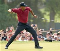 【男子ゴルフ】2位に食い込んだウッズ「メジャーで2度も優勝争いできるとは」
