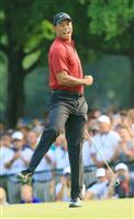 【男子ゴルフ】ウッズが64の猛チャージ 2打及ばずも42歳にして完全復活