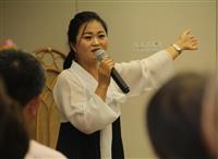 「北朝鮮がなくなることが世界平和に」脱北女性・金兌姫氏が講演