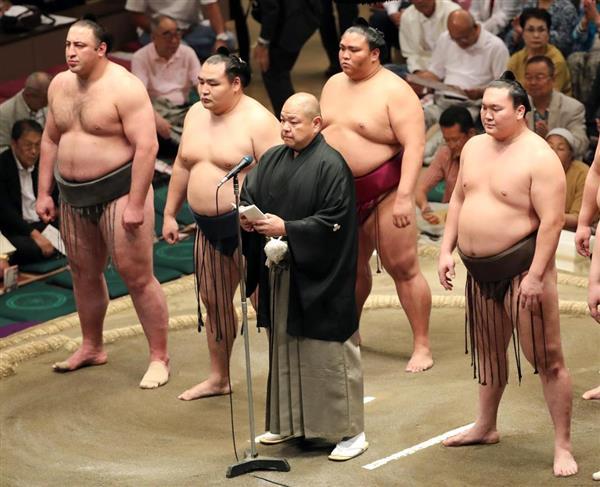 大相撲トク俵】日本相撲協会、東...
