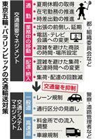 【東京五輪】混雑緩和 交通量抑制・規制の二段構え 「超渋滞現象」回避へ待ったなし