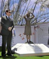 【歴史戦】台湾で初の慰安婦像設置 除幕式に野党・馬英九前総統が出席