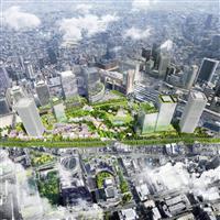 【ビジネスの裏側】大阪最後の一等地「うめきた2期」 緑は採算性を乗り越えるか