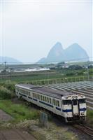 【鉄道アルバム・列車のある風景】JR指宿枕崎線(上)屋根の上のスヌーピー