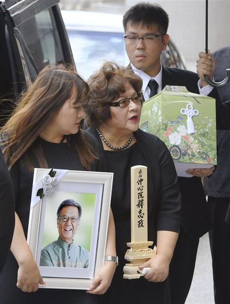 lif1808160018 p1 - オール沖縄「翁長知事の弔い合戦演出のために選挙中に県民葬を要求したら却下された。納得できない」