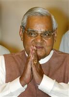 バジパイ氏死去、インド元首相 98年に核実験