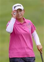 【米女子ゴルフ】気合を入れる横峯さくら 「逃げないでプレーできた」