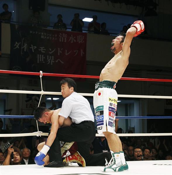 【ボクシング】35歳八重樫東がTKO勝利 世界4階級制覇狙う - 産経ニュース