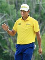 【米男子ゴルフ】松山英樹が52位 小平智は予選落ち ウィンダム選手権第2日