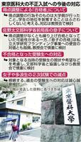 【文科省汚職】東京医大、裏口入学者どうする 減点不合格の救済は? 補助金減額や返還も……