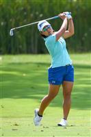 【米女子ゴルフ】7位に終わった畑岡奈紗「攻め切れない部分あった」