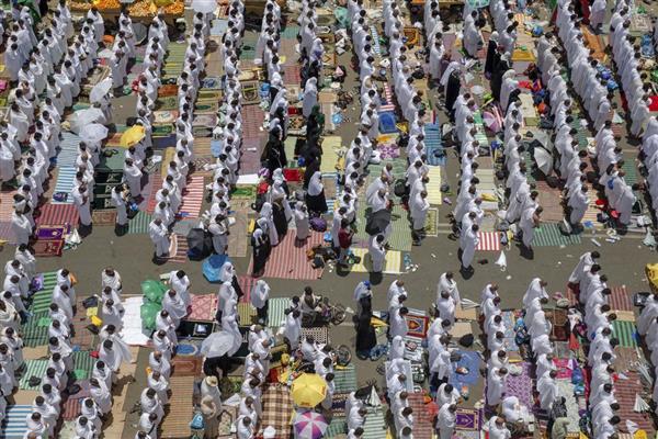 イスラム教の聖地メッカへの大巡...