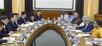 「物品役務相互提供協定」協議開始で合意 日印防衛相会談