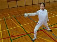 全国中学生フェンシング選手権 三田の中1・西岡さん優勝 夢は「五輪でメダル」