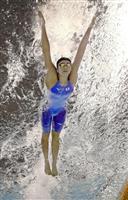 【アジア大会】池江璃花子、予選2位通過 女子100メートルバタフライ