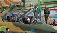 イラン、国産初の戦闘機を公開 ロウハニ大統領もコックピットに 米国を牽制