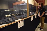「力作ぞろい」の日本刀がずらり  和歌山・真田ミュージアムで企画展 来月2日まで