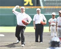【夏の甲子園】「松山商・井上明、三沢・太田幸司」両エースがレジェンド始球式 金足農・吉…