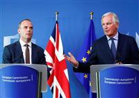 【英EU離脱】英EU離脱交渉は「最終段階」 合意は目標の10月からずれ込みも