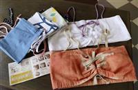 【西日本豪雨】さらしの手作りブラなど手作り下着、避難所で好評 被災女性の悩み解消に一役