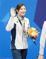 【アジア大会】池江璃花子「自分のレベル上がっている」 メダル量産で実感 長いリーチが原…