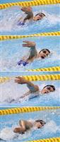 【アジア大会】競泳フリーリレーで強豪中国に勝ち越し…エースの存在、結束力が躍進生む