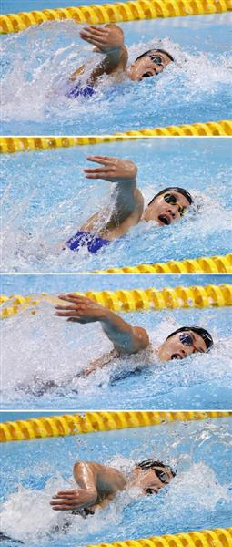 アジア大会】競泳フリーリレーで強豪中国に勝ち越し…エースの存在 ...
