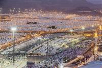 イスラム大巡礼 200万人が祈り