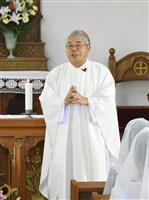 世界遺産集落で記念ミサ 長崎・五島 地元出身の枢機卿参加