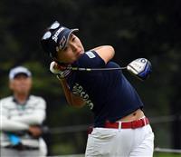 【女子ゴルフ】青木瀬令奈が首位、有村智恵2位 ニトリL第2日