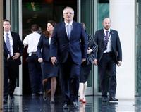 豪新首相にモリソン財務相 与党が党首選、ターンブル氏は退陣