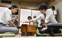 【将棋】藤井七段が準決勝に進出 報道陣50人詰めかける中、緊張の一戦…ヒューリック杯棋…