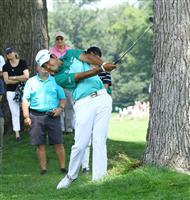 【米男子ゴルフ】松山英樹はショットが乱調 首位と8打差に