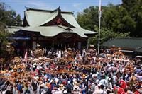 祭りの活気、次代へ 綱島・諏訪神社例大祭 神奈川