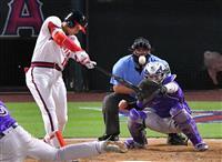 【MLB】大谷翔平が15号逆転3ラン 4番DHで先発出場